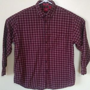 Arrow Flannel Button Down Shirt Size XL